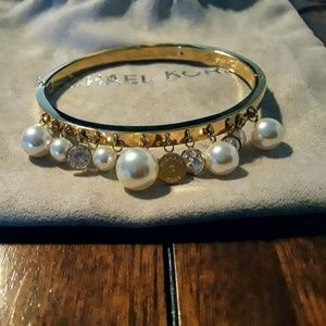 Authentic Michael Kors Gold Bangle